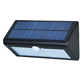 1pc 3 W Lawn Lights Waterproof / Solar / Infrared Sensor White 3.7 V Outdoor Lighting 38 LED Beads