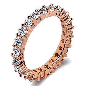 Women's Stylish Band Ring Ring - Platinum Plated, Rose Gold Plated, Imitatio..