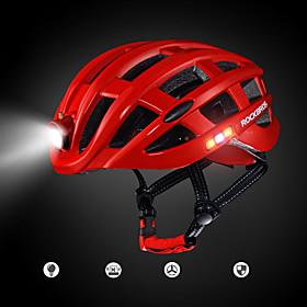 ROCKBROS Adults' Bike Helmet 20 Vents Ventilation EPS Sports Cycling / Bike - Red / Blue / Rough Black Men's / Women's
