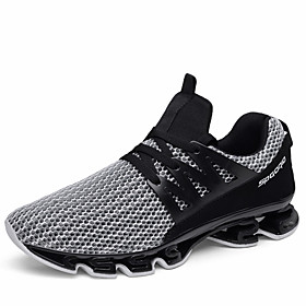 Men's Comfort Shoes PU Summer Athletic Shoes Running Shoes / Walking Shoes Color Block Black / Black / Red / Gray Category:Athletic Shoes; Upper Materials:PU; Lining Materials:Fabric; Season:Summer; Gender:Men's; Activity:Walking Shoes,Running Shoes; Outsole Materials:Rubber; Occasion:Outdoor; Pattern:Color Block,Solid Colored; Shipping Weight:0.767348; Listing Date:07/18/2018; 2020 Trends:Comfort Shoes; Foot Length:; Size chart date source:Provided by Supplier.; Popular Country:Germany,Italy,United Kingdom,France,United States
