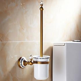 Toilet Brush Holder New Design / Cool Contemporary Brass 1pc Toilet Brush Holder Wall Mounted
