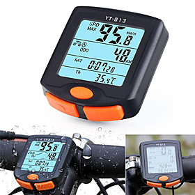YT-813 Bike Computer / Bicycle Computer Waterproof / Wireless / Backlight Road Cycling / Mountain Bike / MTB Cycling