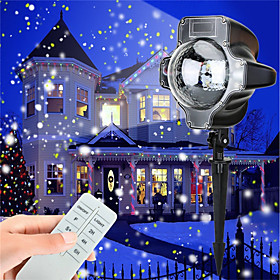 KWB 1pc 5 W LED Floodlight Waterproof / Dimmable / Decorative White / Multi Color 100 240 V Outdoor Lighting / Courtyard / Garden 4 LED Beads