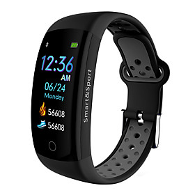 BoZhuo Q6-PRO Smart Bracelet Smartwatch Android iOS Bluetooth Waterproof Heart Rate Monitor Blood Pressure Measurement Calories Burned Stopwatch Pedometer Call