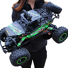 RC Car Giantfoot Monster Truck Crawlers 4WD 4 Channel 2.4G Buggy (Off-road) / Rock Climbing Car / 4WD 1:12 9 km/h Water / Dirt / Shock Proof / Simulation / Par