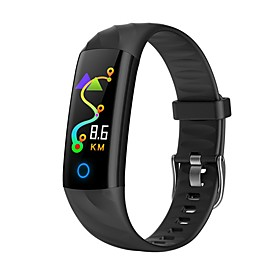 KUPENG S5 Smart Bracelet Smartwatch Android iOS Bluetooth Sports Waterproof Heart Rate Monitor Blood Pressure Measurement Touch Screen Pedometer Call Reminder
