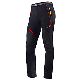 Nuckily Men's Cycling Pants Bike Pants / Trousers Tights Bottoms Waterproof Breathable Quick Dry Sports Polyester Black Mountain Bike MTB Road Bike Cycling Clo
