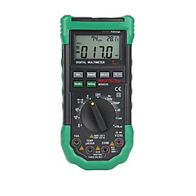 MASTECH MS8229 Digital Multimeter 5 in 1 Noise Illumination Temperature Humidity Tester Diagnostic-tool Auto Range LCD Backlight