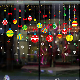 Window Film  Stickers Decoration Christmas Character PVC(PolyVinyl Chloride) Window Sticker / Adorable / Funny