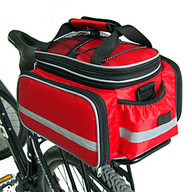 FJQXZ Bike Panniers Bag Bike Rack Bag Large Capacity Waterproof Adjustable Size Bike Bag Nylon Bicycle Bag Cycle Bag Cycling / Bike