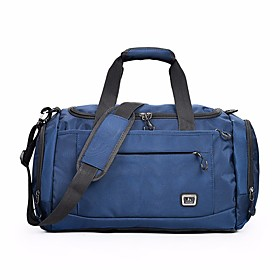 Nylon Solid Color Travel Bag Solid Solid Color Dark Blue / Purple / Navy Blue