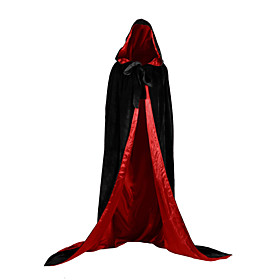 Witch Vampire Coat Cosplay Costume Party Costume Costume Christmas Dress Unisex Adults Adults' Cover Up Halloween Christmas Halloween Carnival Festival / Holid