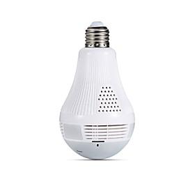 JOOAN Bulb Lamp Wireless IP Camera Wifi 960P Panoramic FishEye Home Security CCTV Camera 360 Degree Night Vision Support 128GB