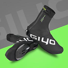 GIYO Adults' Cycling Shoes Cover / Overshoes Waterproof Cushioning Ventilation Cycling / Bike Cycling Shoes Black Cycling Shoes