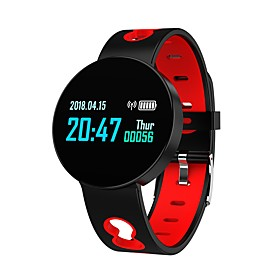 Indear Q07 Smart Bracelet Smartwatch Android iOS Bluetooth Sports Waterproof Heart Rate Monitor Blood Pressure Measurement Touch Screen Pedometer Call Reminder