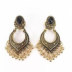 Women's Silver Silver Gemstone Classic Clip Earrings - Heart European Silver..