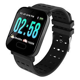 Indear M20/A6 Smart Bracelet Smartwatch Android iOS Bluetooth Sports Waterproof Heart Rate Monitor Blood Pressure Measurement Touch Screen Pedometer Call Remin