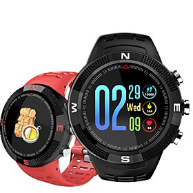 Indear F18 Smart Bracelet Smartwatch Android iOS Bluetooth GPS Sports Waterproof Heart Rate Monitor Blood Pressure Measurement Stopwatch Pedometer Call Reminde
