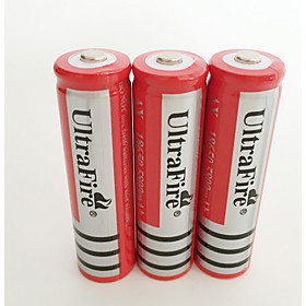 18650 Battery Rechargeable Lithium-ion Battery 4200.0 mAh 4pcs Rechargeable for Camping/Hiking/Caving