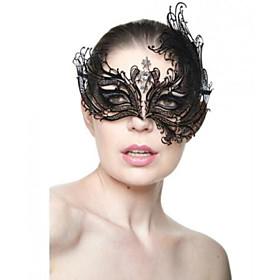 Princess Venetian Mask Masquerade Mask Adults' Women's Halloween Christmas Halloween Masquerade Festival / Holiday Metal Blue / Golden / Dark Green Carnival Co