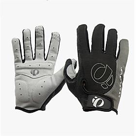WEST BIKING Sports Gloves Bike Gloves / Cycling Gloves Waterproof Windproof Breathable Full Finger Gloves Winter Spandex Nylon Cycling / Bike Fitness Men's