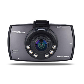 720p Car DVR 170 Degree Wide Angle 12.0MP CMOS 2.7 inch TFT LCD monitor Dash Cam with motion detection 6 infrared LEDs Car Recorder