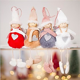 Holiday Decorations Christmas Decorations Christmas Ornaments Decorative Gray / Coffee / Red 1pc
