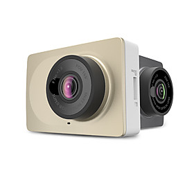Xiaomi YI 1920 x 720 / 1296P Mini / Anti-Shock / Wide Angle Car DVR 160 Degree / 165 Degree Wide Angle 12.0MP CMOS 2.7 inch LCD Dash Cam with auto on / off Car
