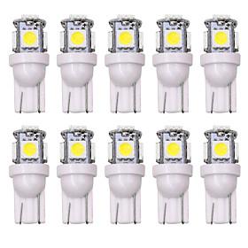 SO.K 10pcs T10 Car Light Bulbs 5 W 160 lm LED Interior Lights