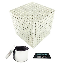 1000 pcs 5mm Magnet Toy Magnetic Balls Magnet Toy Super Strong Rare-Earth Magnets Magnetic Square Shaped Stress and Anxiety Relief Office Desk Toys Relieves AD