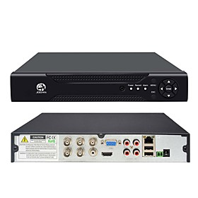 JOOAN 4CH 1080N 5 in 1(Compatible TVICVIAHDCBVSIPC) CCTV DVR H.264 NO HDD Security Surveillance Video Record