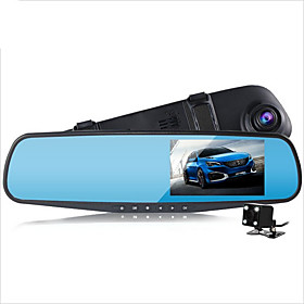 D790s 1080p Car DVR 140 Degree Wide Angle 4.3 inch Dash Cam with G-Sensor / Parking Monitoring / motion detection No Car Recorder / Loop recording / auto on /