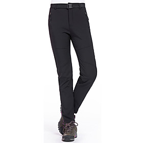 Women's Hiking Pants Windproof, Waterproof, Thermal / Warm Camping / Hiking / Ski / Snowboard / Winter Sports Cotton Pants / Trousers Ski Wear