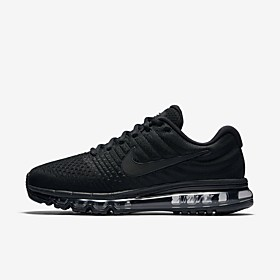NIKE Air Max 2017 Mens and Women's Running Fitness casual Shoes Category:Athletic Shoes; Upper Materials:Elastic Fabric; Lining Materials:Tulle,Cotton; Season:Spring   Fall,Fall,Summer,Spring; Gender:Men's; Activity:Walking Shoes,Fitness  Cross Training Shoes,Running Shoes; Style:Sporty,Casual; Outsole Materials:TPU (Thermoplastic Polyurethane); Occasion:Outdoor,Daily,Athletic; Closure Type:Lace-up; Function:Wear Proof,Non-slipping,Breathable; Brand:Nike; Shipping Weight:0.956579; Listing Date:12/25/2018; 2019 Trends:Comfort Shoes; Foot Length:; Size chart date source:Measured by LightInTheBox.; Popular Country:Germany,United Kingdom,Australia,France,United States; Special selected products:StockUs,StockEuro