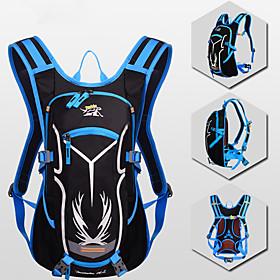18 L Cycling Backpack Adjustable, Lightweight, Multifunctional Bike Bag Nylon Bicycle Bag Cycle Bag Camping / Hiking / Cycling / Bike / Reflective Strips