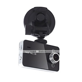 K6000 1080p / Full HD 1920 x 1080 Car DVR 120 Degree Wide Angle 2.7 inch Dash Cam with HDR Car Recorder
