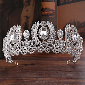 Women's Hair Jewelry For Wedding Engagement Party Wedding Alloy Silver 1pc Gender:Women's; Quantity:1pc; Theme:Wedding; Style:Fashion; Jewelry Type:Hair Jewelry,Diadem; Occasion:Wedding,Engagement Party; Material:Alloy; Shipping Weight:0.22; Package Dimensions:45.045.045.0; Net Weight:0.23; Listing Date:04/10/2020