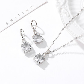 Women's Jewelry Set European Casual / Sporty Earrings Jewelry Silver For Street Festival 1 set Gender:Women's; Quantity:1 set; Style:Casual / Sporty,European; Jewelry Type:Jewelry Set; Occasion:Festival,Street; Material:Alloy; Shipping Weight:0.01; Package Dimensions:5.05.01.0; Net Weight:0.005; Listing Date:04/27/2020