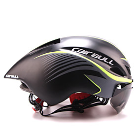 CAIRBULL Adults Bike Helmet with Goggle Aero Helmet 8 Vents CE EN 1077 Impact Resistant Lightweight Ventilation EPS Sports Mountain Bike / MTB Road Cycling - A