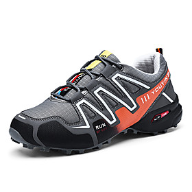 Men's Light Soles Synthetics Spring Sporty / Casual Athletic Shoes Running Shoes / Hiking Shoes Non-slipping Color Block Black / Dark Blue / Gray Category:Athletic Shoes; Upper Materials:Synthetics; Season:Spring; Gender:Men's; Activity:Hiking Shoes,Running Shoes; Toe Shape:Round Toe; Style:Casual,Sporty; Outsole Materials:TPU (Thermoplastic Polyurethane); Occasion:Athletic,Outdoor; Closure Type:Lace-up; Function:Wear Proof,Non-slipping; Pattern:Color Block; Shipping Weight:0.67; Listing Date:04/25/2019; 2019 Trends:Light Soles; Foot Length:; SizeChart1_ID:2:123799; Size chart date source:Provided by Supplier.