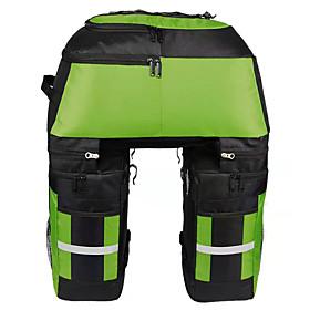 FJQXZ 70 L Bike Panniers Bag Bike Rack Bag 3 In 1 Large Capacity Waterproof Bike Bag 1680D Polyester Bicycle Bag Cycle Bag Cycling / Bike