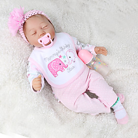 NPK DOLL 22 inch Reborn Doll Baby  Toddler Toy Reborn Toddler Doll Baby Boy Baby Girl Gift Cute Lovely Parent-Child Interaction Tipped and Sealed Nail