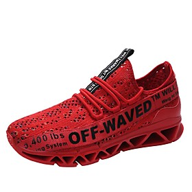 Men's Comfort Shoes Mesh Spring   Fall Athletic Shoes Running Shoes Black / White / Red Category:Athletic Shoes; Upper Materials:Mesh; Season:Spring   Fall; Gender:Men's; Activity:Running Shoes; Occasion:Outdoor; Shipping Weight:0.948625; Listing Date:08/29/2018; 2019 Trends:Comfort Shoes; Foot Length:; SizeChart1_ID:2:88799; SizeChart2_ID:92:88800; Size chart date source:Provided by Supplier.; Popular Country:Netherlands,Germany,United Kingdom,Australia; Special selected products:COD