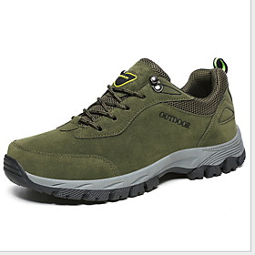 Men's Comfort Shoes PU Fall  Winter Sporty Athletic Shoes Hiking Shoes Non-slipping Brown / Green / Gray Category:Trainers / Athletic Shoes; Upper Materials:PU; Season:Fall  Winter; Gender:Men's; Activity:Hiking Shoes; Style:Sporty; Occasion:Outdoor; Closure Type:Lace-up; Function:Non-slipping; Pattern:Solid Colored; Shipping Weight:0.988947; Listing Date:10/11/2019; 2020 Trends:Comfort Shoes; Foot Length:; Size chart date source:Provided by Supplier.; Popular Country:United States