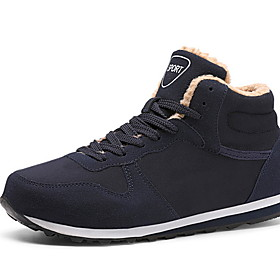 Men's Comfort Shoes Cowhide Winter Athletic Shoes Running Shoes Black / Blue Category:Trainers / Athletic Shoes; Upper Materials:Cowhide; Season:Winter; Gender:Men's; Activity:Running Shoes; Occasion:Daily; Shipping Weight:0.515; Listing Date:11/05/2019; 2020 Trends:Comfort Shoes; Foot Length:; Size chart date source:Provided by Supplier.