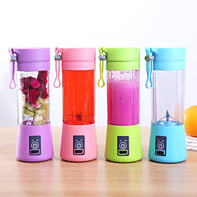 380ml Portable Juicer Electric USB Rechargeable Smoothie Blender Machine Mixer Mini Juice Cup Maker fast Blenders food processor Quantity:1; Type:fruit juicer cup portable; Occasion:Casual / Daily; Material:Plastics; Dimension:248; Function:Portable; Shipping Weight:0.35; Listing Date:12/17/2019