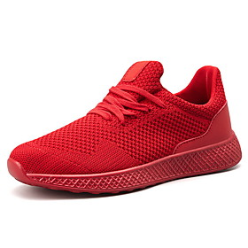 Men's Comfort Shoes Mesh Fall  Winter Athletic Shoes Running Shoes Black / Red / Gray Category:Trainers / Athletic Shoes; Upper Materials:Mesh; Season:Fall  Winter; Gender:Men's; Activity:Running Shoes; Occasion:Daily; Closure Type:Lace-up; Pattern:Solid Colored; Shipping Weight:0.8; Listing Date:01/02/2020; 2020 Trends:Comfort Shoes; Foot Length:; Size chart date source:Provided by Supplier.