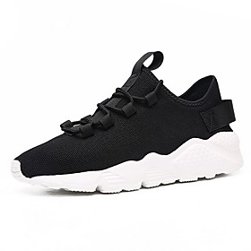 Men's Comfort Shoes Mesh Fall  Winter Athletic Shoes Black / Black and White / White Category:Trainers / Athletic Shoes; Upper Materials:Mesh; Season:Fall  Winter; Gender:Men's; Occasion:Outdoor; Shipping Weight:0.3; Listing Date:02/17/2020; 2020 Trends:Comfort Shoes; Foot Length:; Size chart date source:Provided by Supplier.