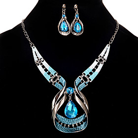 Women's Jewelry Set Hollow Out Rhinestone Earrings Jewelry Silver For Festival Gender:Women's; Jewelry Type:Jewelry Set; Occasion:Festival; Material:Rhinestone,Alloy; Length of Necklace:485; Design:Hollow Out; Shipping Weight:0.054; Package Dimensions:12.011.60.8; Listing Date:04/07/2020; Popular Country:United Kingdom,United States; Special selected products:COD