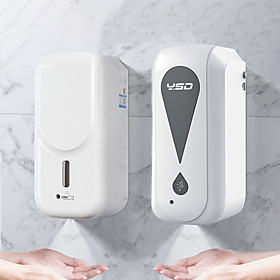 Touchless Automatic Liquid Dispenser Machine High Volume 1000ML Automatic Induction Machine, Touchless Wall-Mounted Dispenser Battery Charged Liquid M